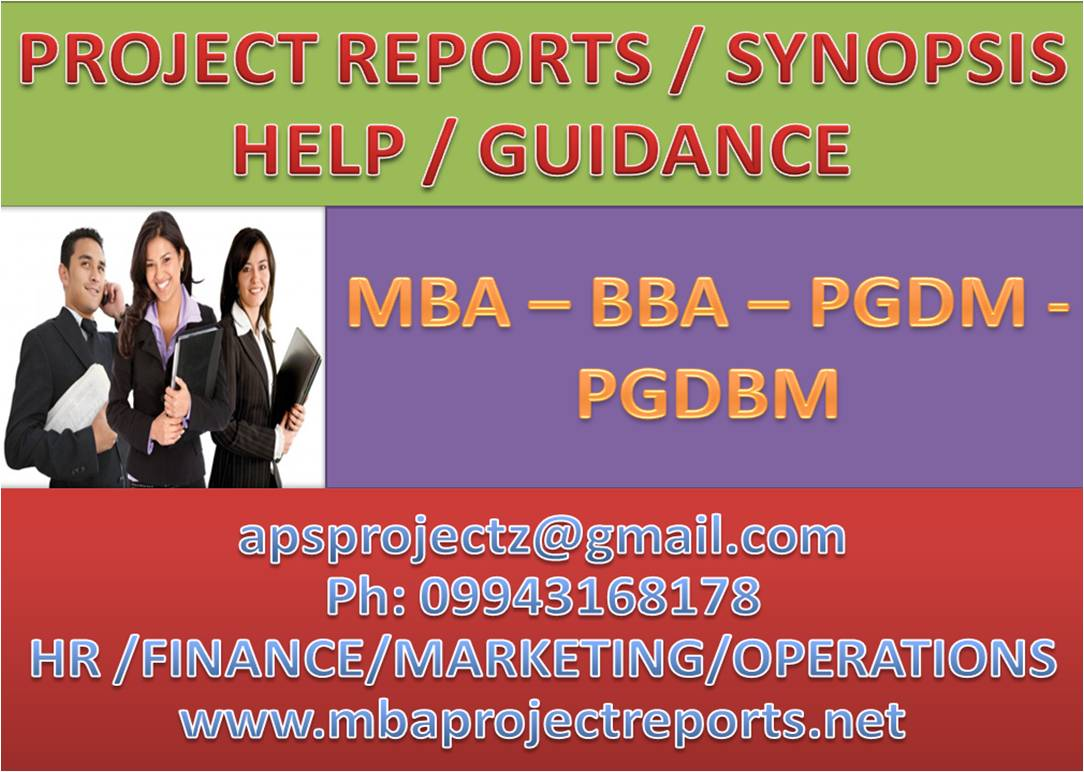 mba projects mba project reports mba assignments help hr  mba projects